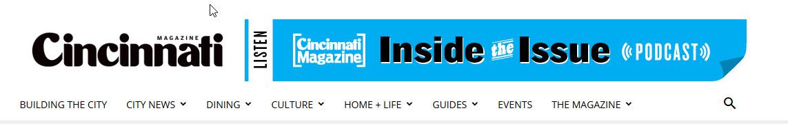 Cinncinnati Magazine header